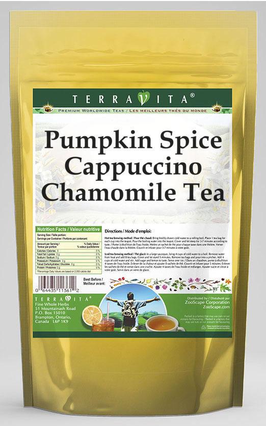 Pumpkin Spice Cappuccino Chamomile Tea