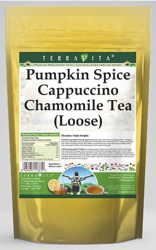 Pumpkin Spice Cappuccino Chamomile Tea (Loose)