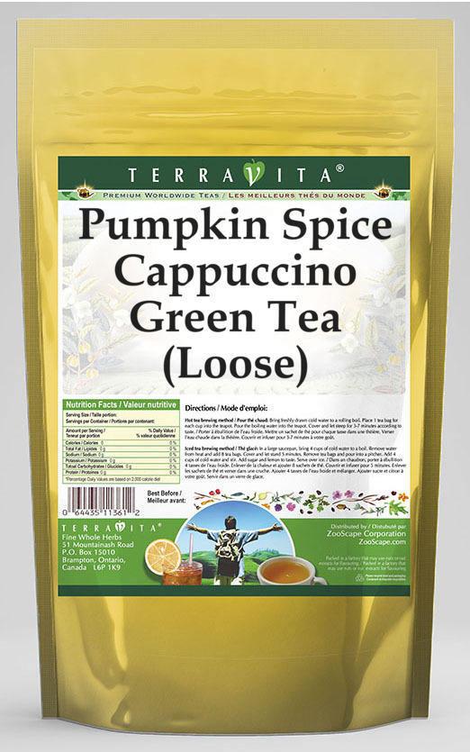 Pumpkin Spice Cappuccino Green Tea (Loose)