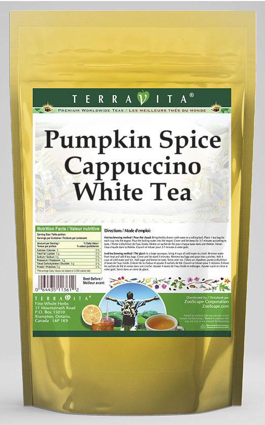 Pumpkin Spice Cappuccino White Tea