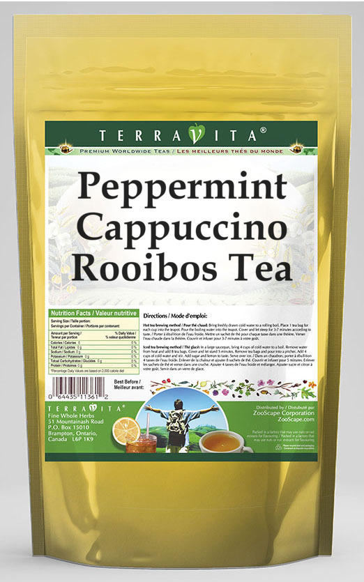 Peppermint Cappuccino Rooibos Tea