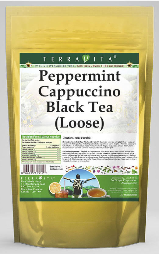 Peppermint Cappuccino Black Tea (Loose)