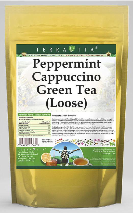 Peppermint Cappuccino Green Tea (Loose)