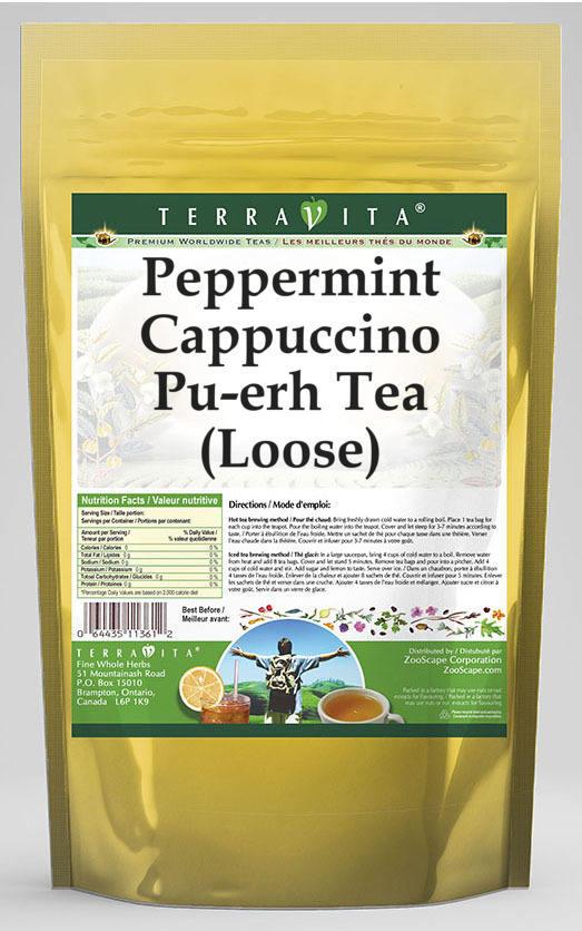 Peppermint Cappuccino Pu-erh Tea (Loose)