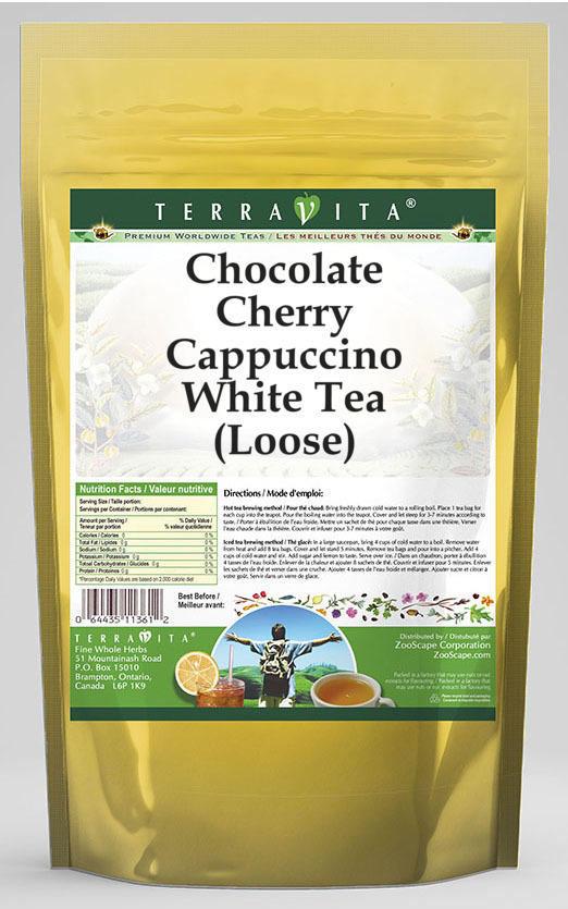 Chocolate Cherry Cappuccino White Tea (Loose)