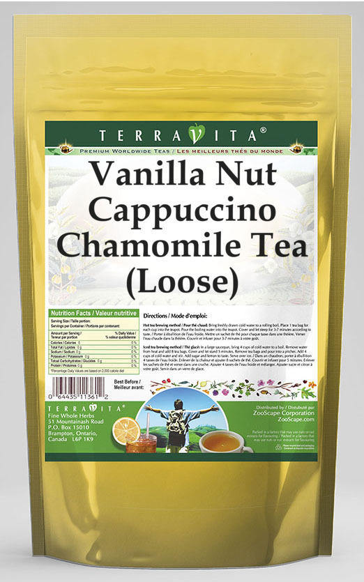 Vanilla Nut Cappuccino Chamomile Tea (Loose)