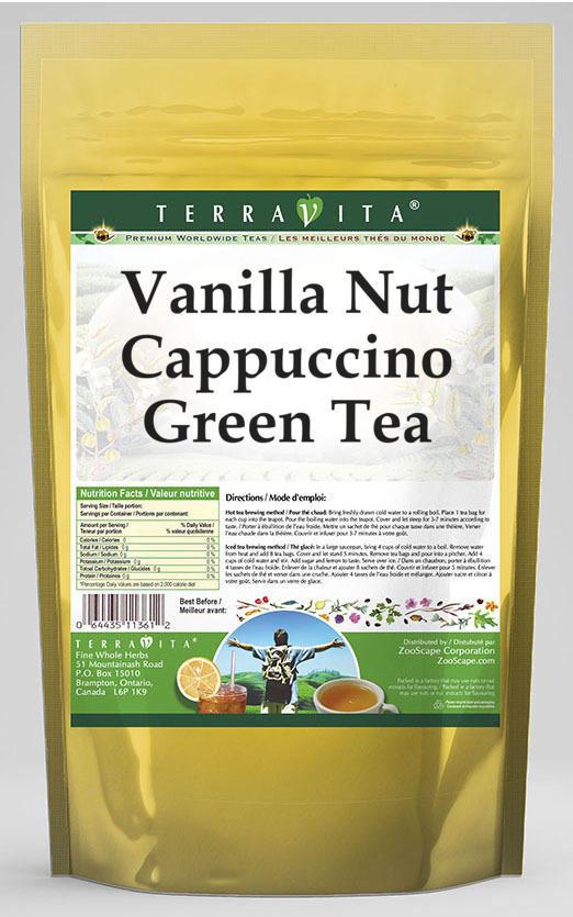 Vanilla Nut Cappuccino Green Tea