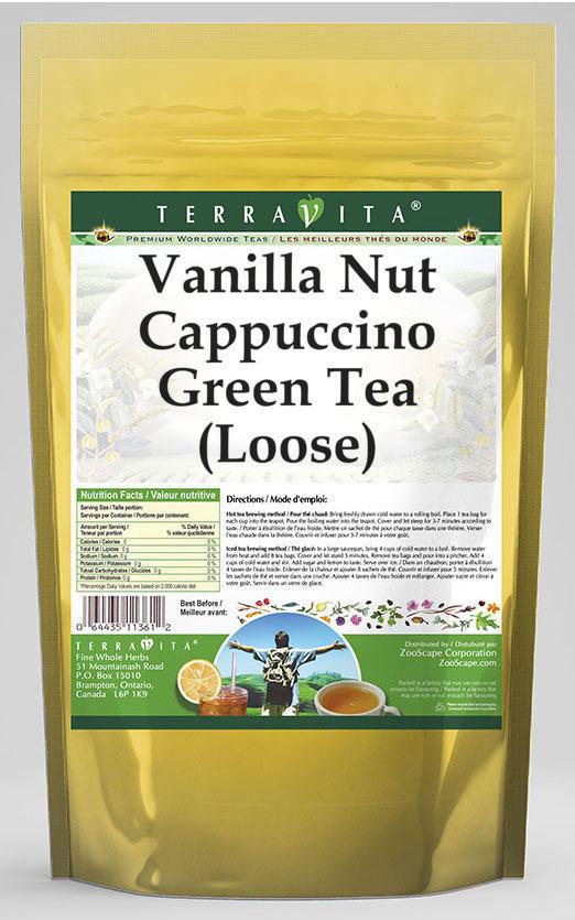 Vanilla Nut Cappuccino Green Tea (Loose)