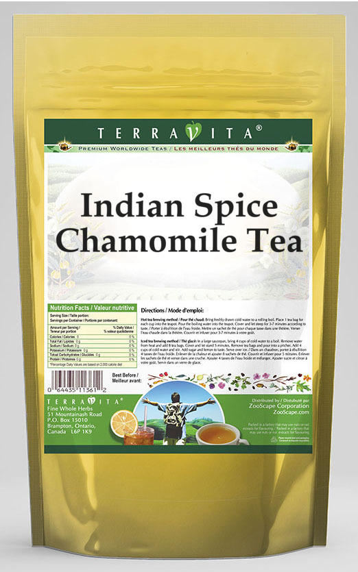 Indian Spice Chamomile Tea