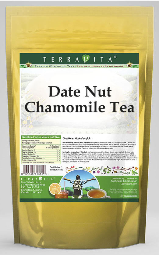 Date Nut Chamomile Tea