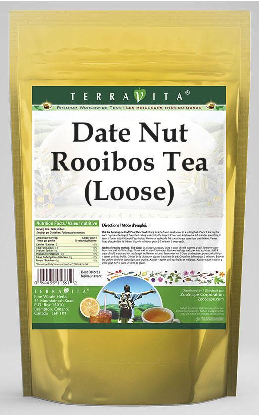 Date Nut Rooibos Tea (Loose)