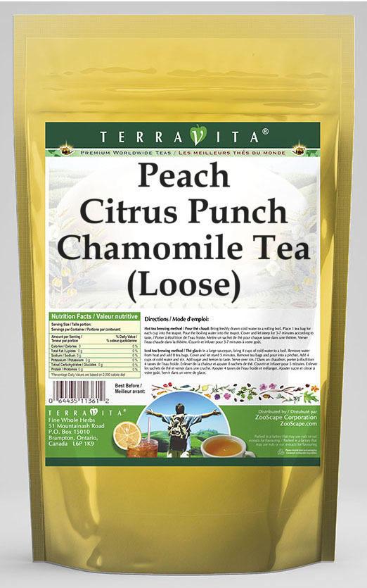 Peach Citrus Punch Chamomile Tea (Loose)