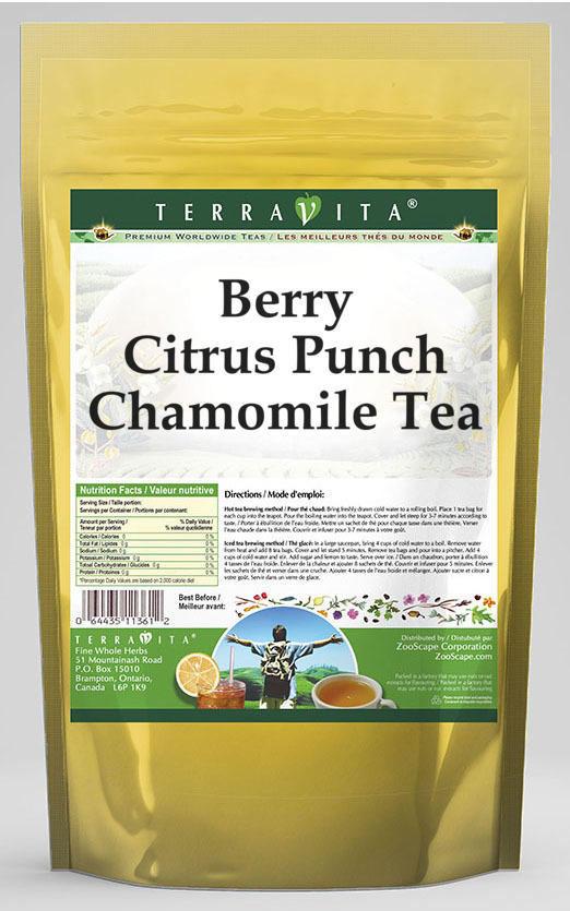 Berry Citrus Punch Chamomile Tea