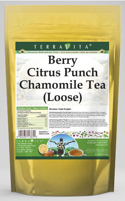 Berry Citrus Punch Chamomile Tea (Loose)