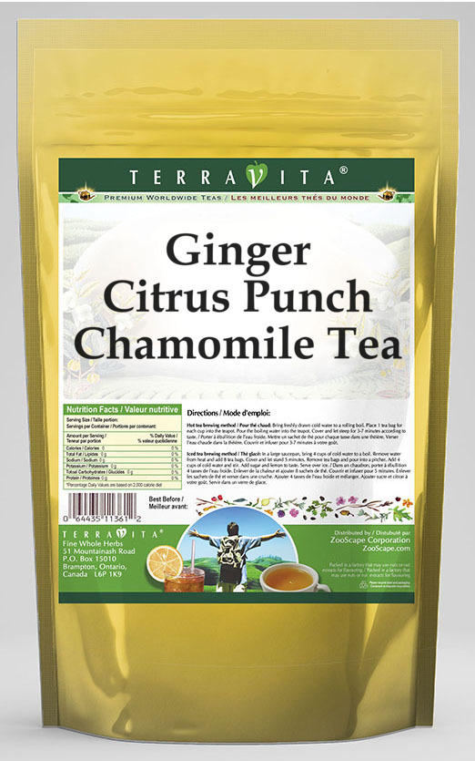 Ginger Citrus Punch Chamomile Tea