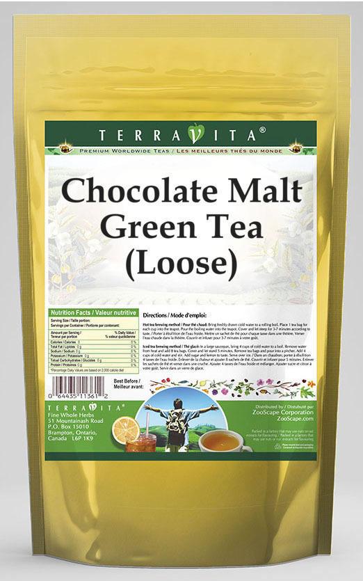 Chocolate Malt Green Tea (Loose)