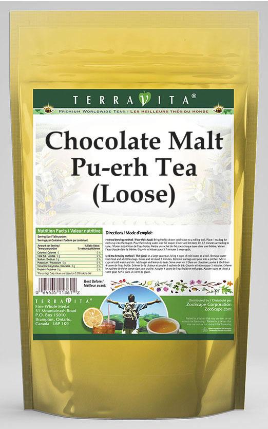 Chocolate Malt Pu-erh Tea (Loose)