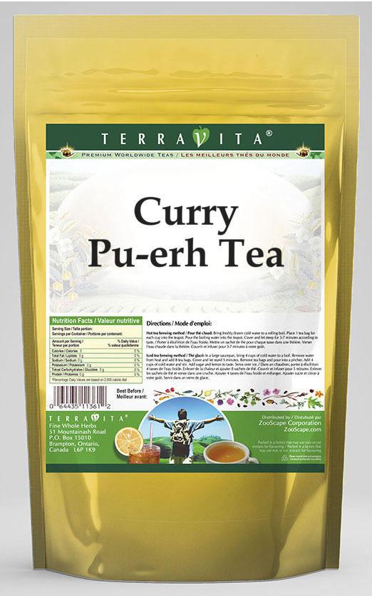 Curry Pu-erh Tea
