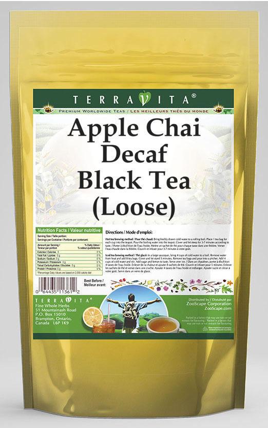 Apple Chai Decaf Black Tea (Loose)