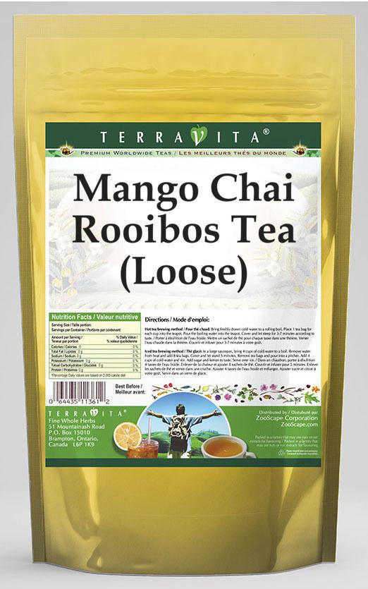 Mango Chai Rooibos Tea (Loose)