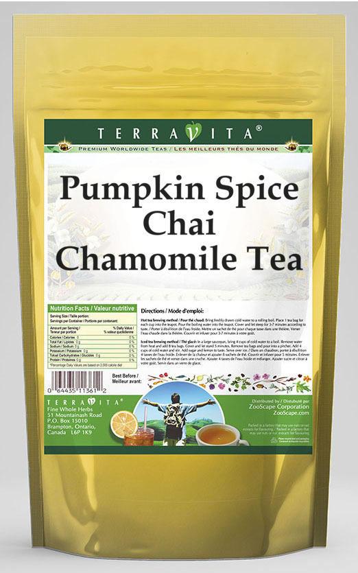Pumpkin Spice Chai Chamomile Tea