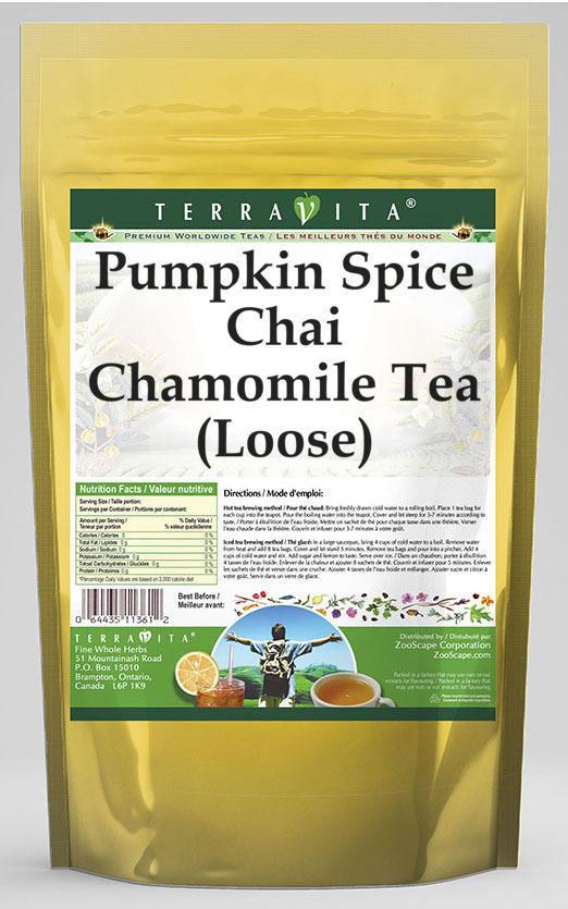 Pumpkin Spice Chai Chamomile Tea (Loose)