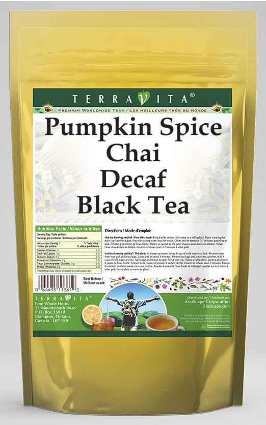 Pumpkin Spice Chai Decaf Black Tea