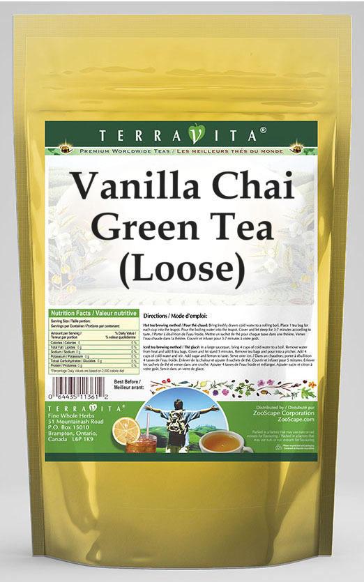 Vanilla Chai Green Tea (Loose)