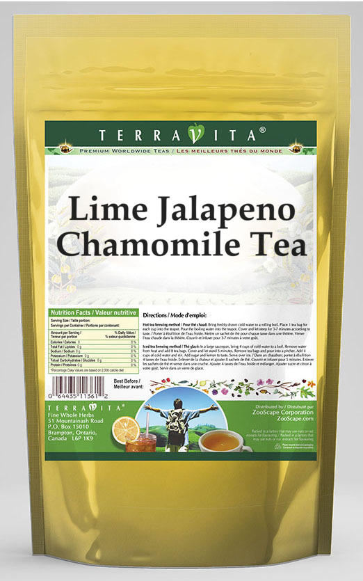 Lime Jalapeno Chamomile Tea