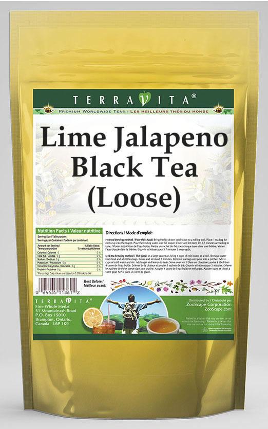 Lime Jalapeno Black Tea (Loose)