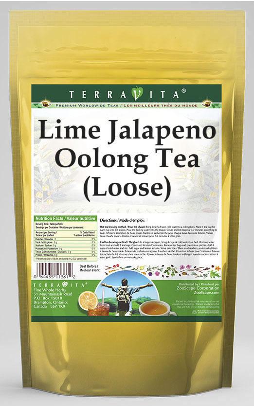 Lime Jalapeno Oolong Tea (Loose)