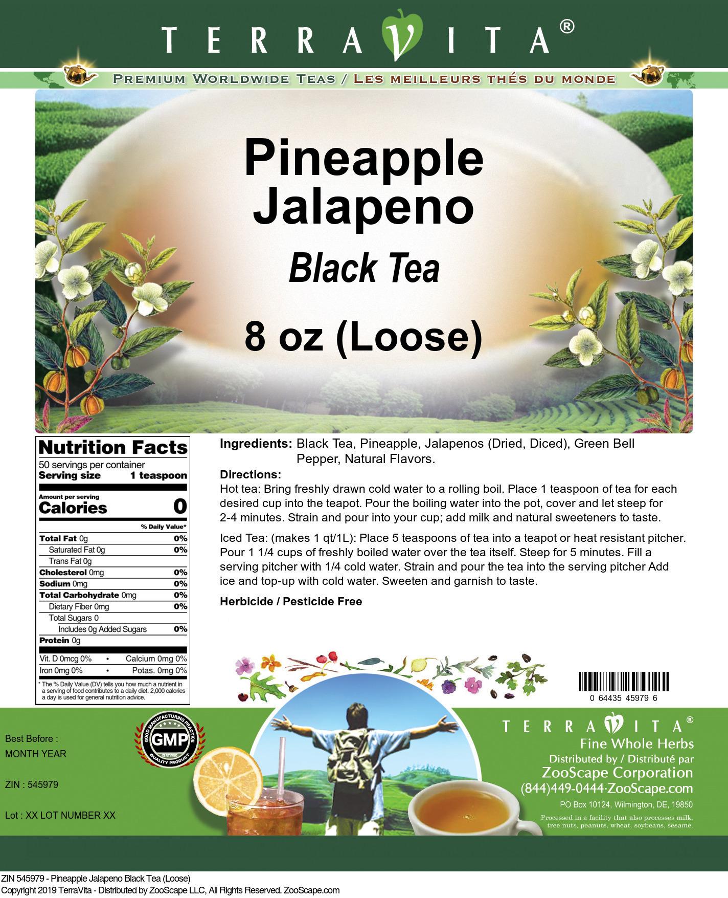Pineapple Jalapeno Black Tea