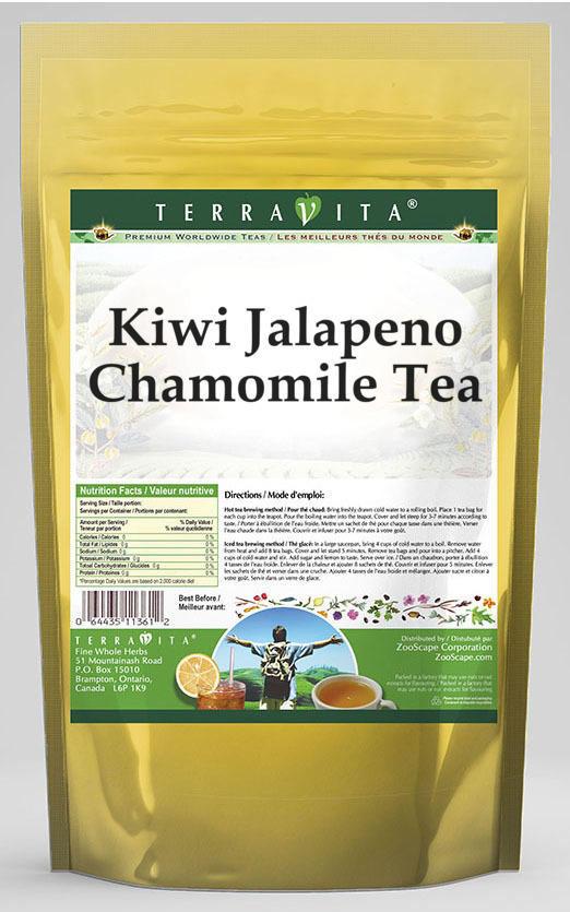 Kiwi Jalapeno Chamomile Tea