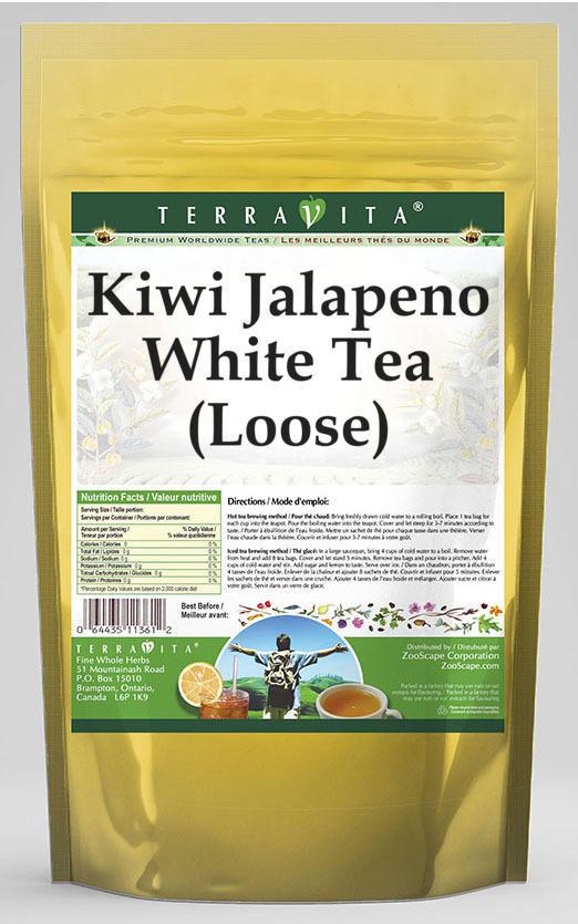 Kiwi Jalapeno White Tea (Loose)