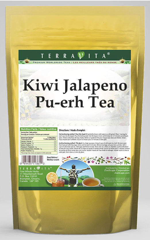Kiwi Jalapeno Pu-erh Tea