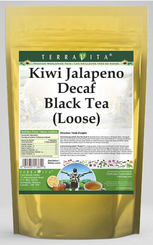 Kiwi Jalapeno Decaf Black Tea (Loose)