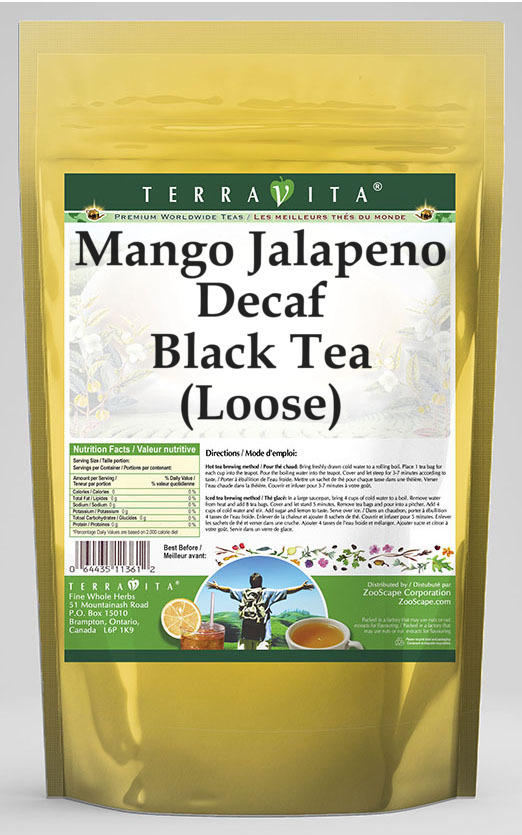 Mango Jalapeno Decaf Black Tea (Loose)