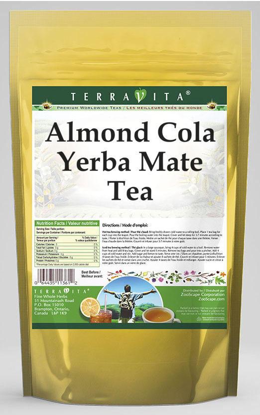 Almond Cola Yerba Mate Tea