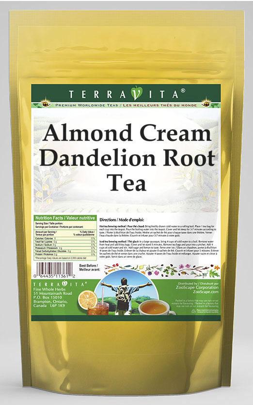 Almond Cream Dandelion Root Tea