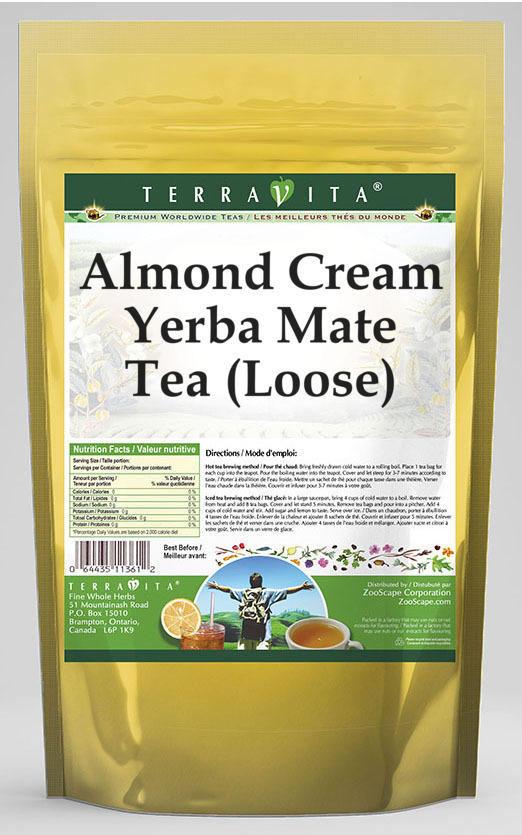 Almond Cream Yerba Mate Tea (Loose)