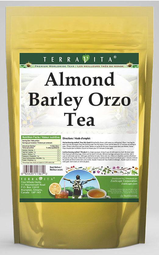 Almond Barley Orzo Tea