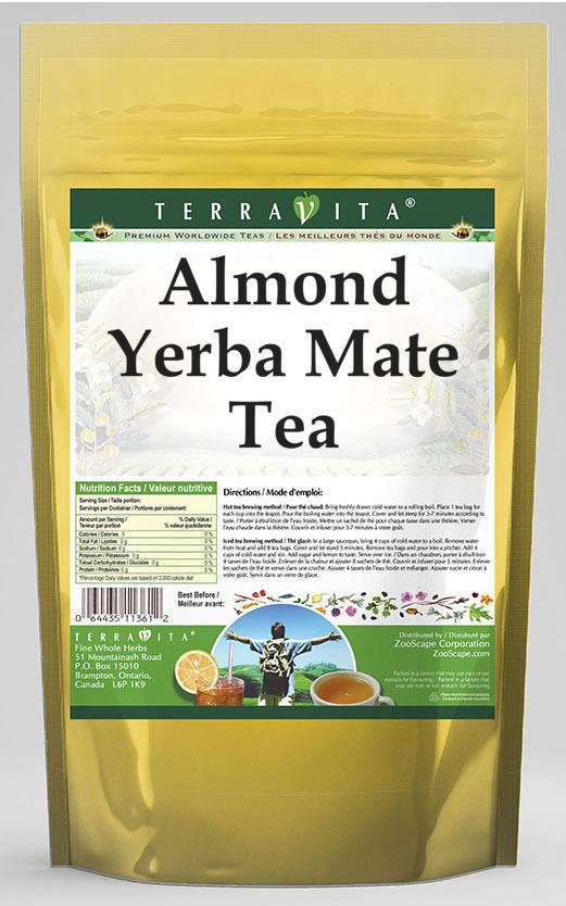 Almond Yerba Mate Tea