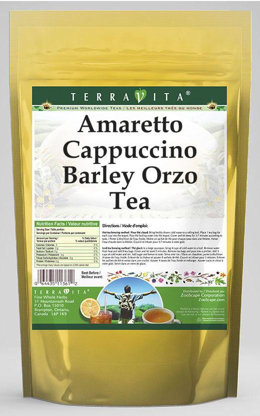 Amaretto Cappuccino Barley Orzo Tea