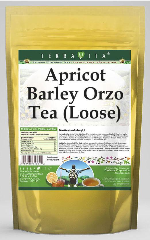 Apricot Barley Orzo Tea (Loose)