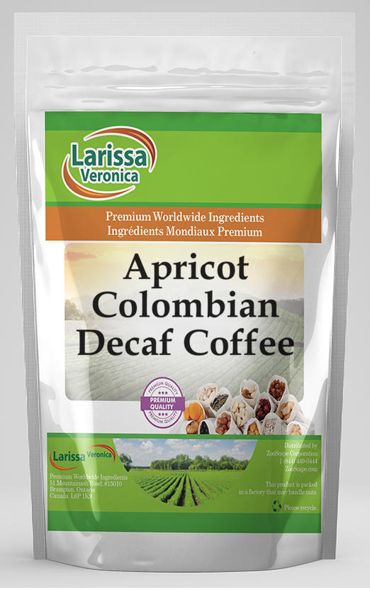 Apricot Colombian Decaf Coffee