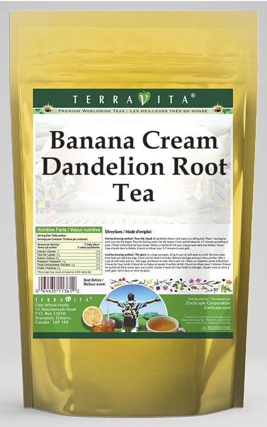 Banana Cream Dandelion Root Tea