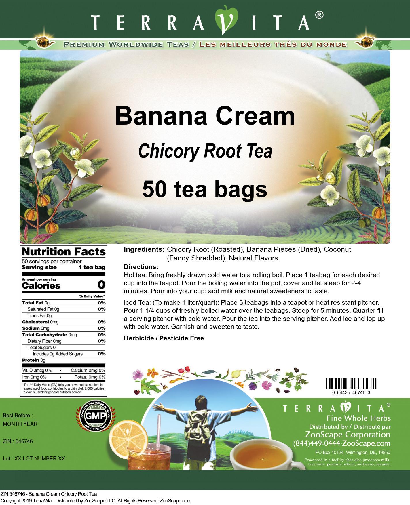 Banana Cream Chicory Root