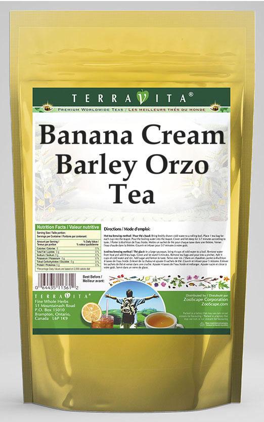 Banana Cream Barley Orzo Tea