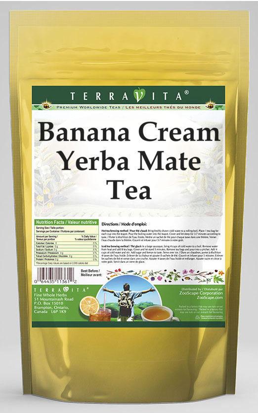 Banana Cream Yerba Mate Tea