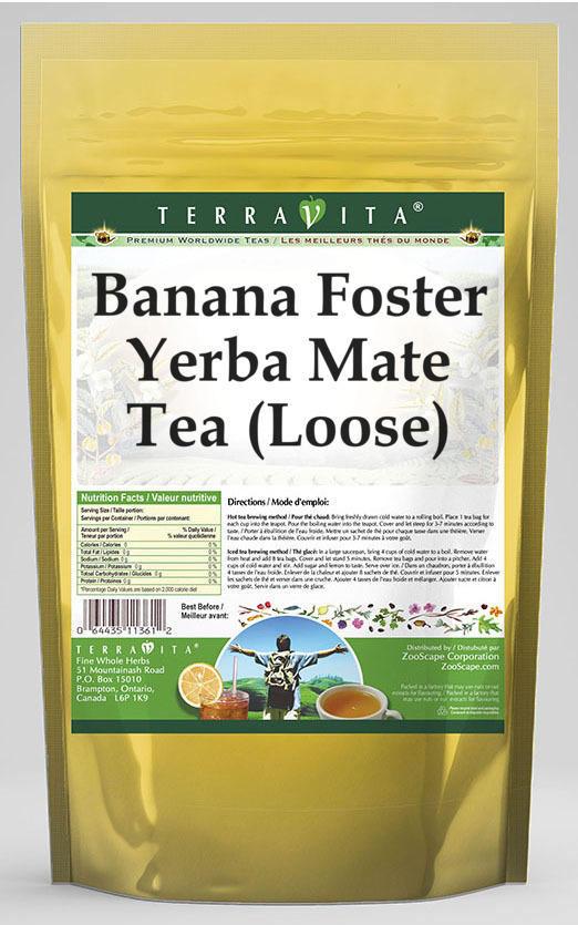 Banana Foster Yerba Mate Tea (Loose)